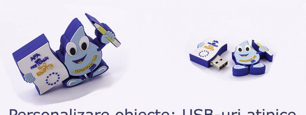 Personalizare obiecte: USB-uri atipice