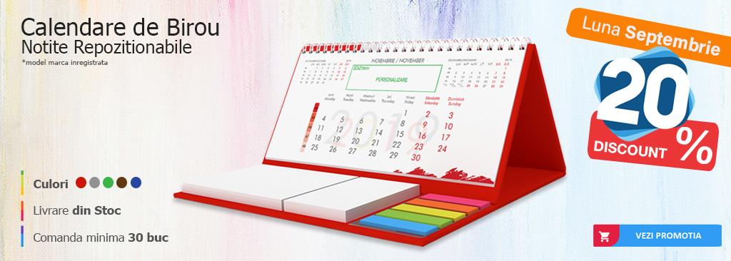 Calendare cu notite repozitionabile DeMedia